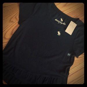 Other - BNWT.   Girls size.  5/6. Abercrombie  shirt